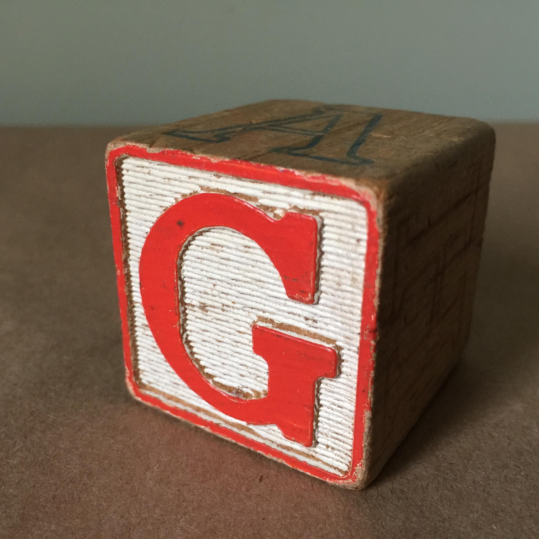 Block letter G